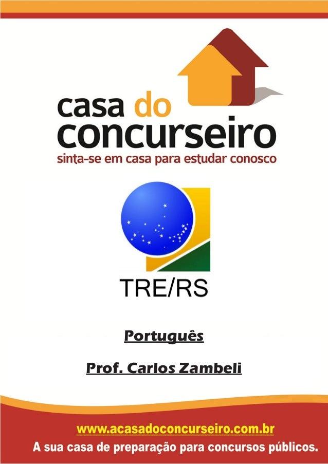 Português Prof. Carlos Zambeli