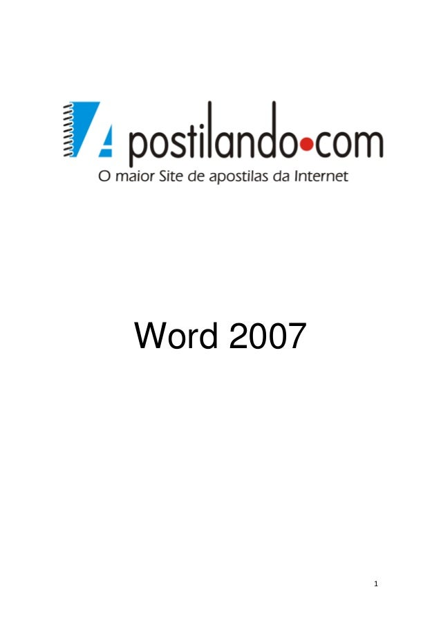 1 Word 2007
