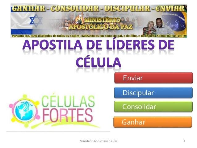 Ganhar Consolidar Discipular Enviar Ministerio Apostolico da Paz 1