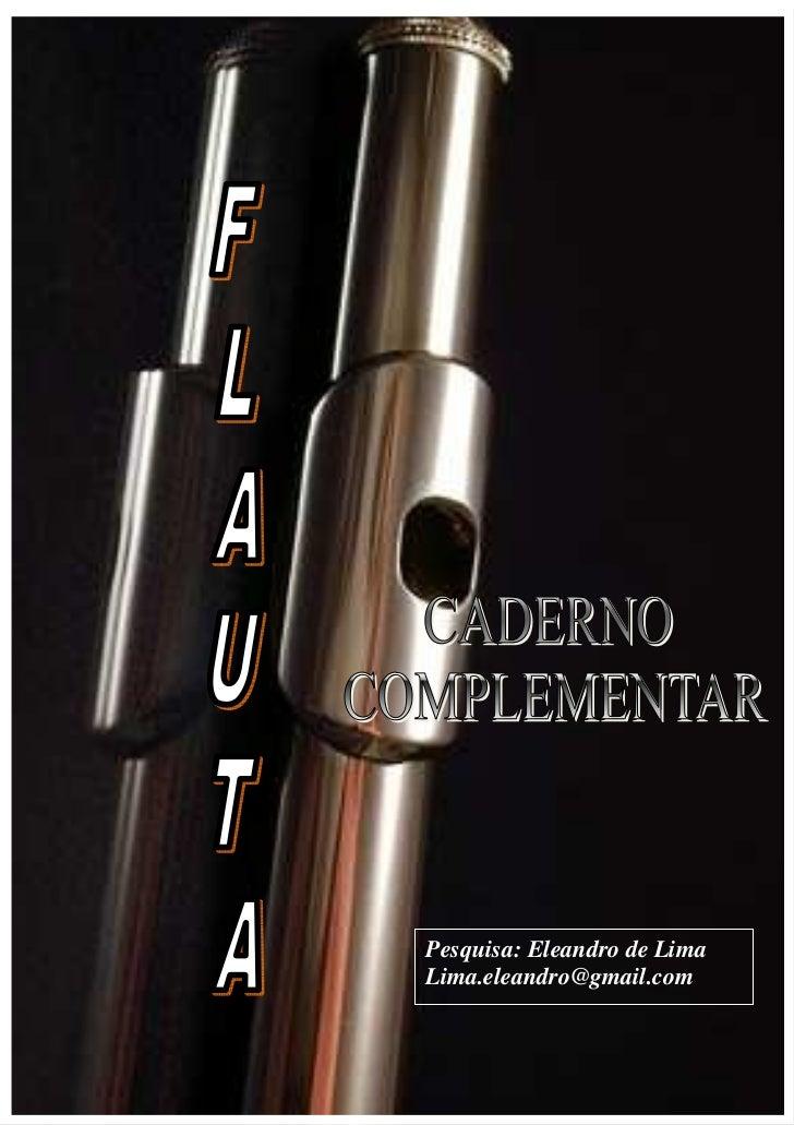 3Pesquisa: Eleandro de LimaLima.eleandro@gmail.com