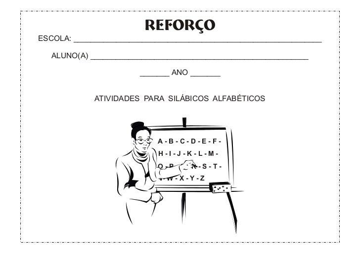 Apostilinha para silab alfab+®ticos