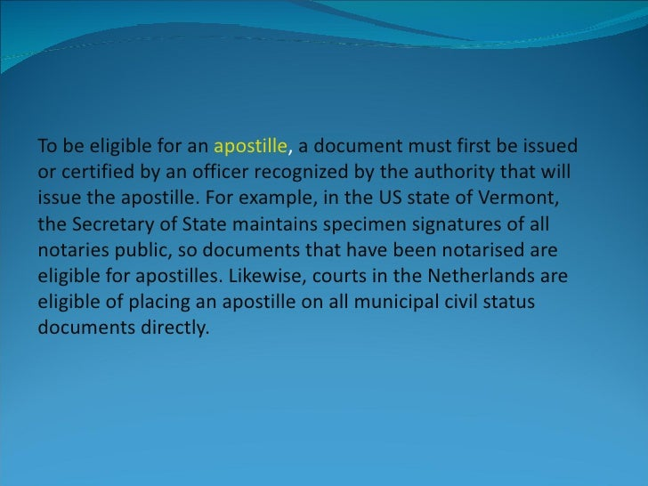 what is apostille definition  how to apostille a document