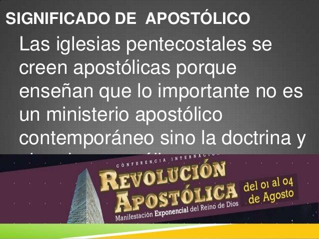 Apostoles y profetas hoy for Significado de la palabra contemporaneo
