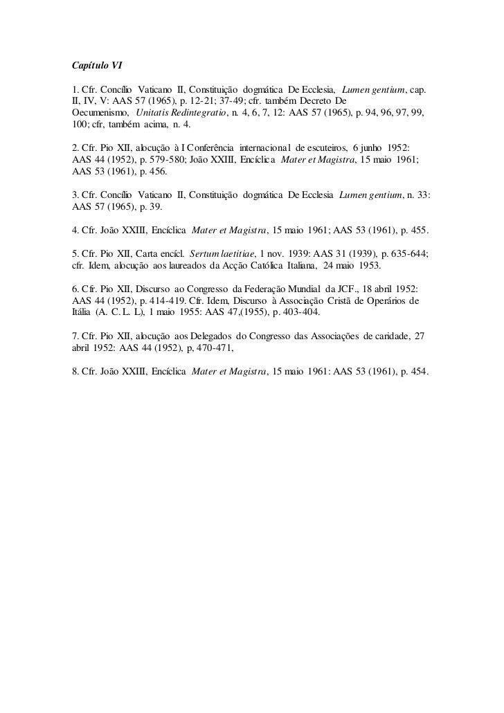 mislekturas: Decreto Apostolicam Actuositatem, Nº 6