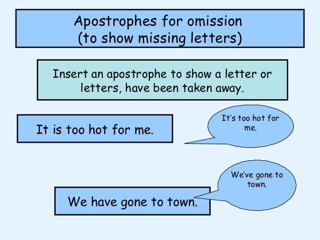 Do You Use An Apostrophe To Show Possession Apostrophe