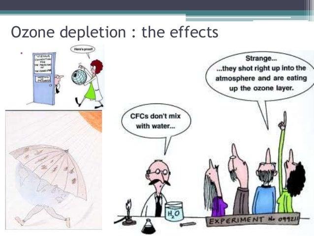 A Power Point Presentation On Ozone Depletion