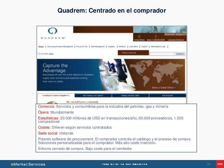 Quadrem: Centrado en el compradorComercia: Servicios y consumibles para la industria del petroleo, gas y mineríaÓpera: Mun...