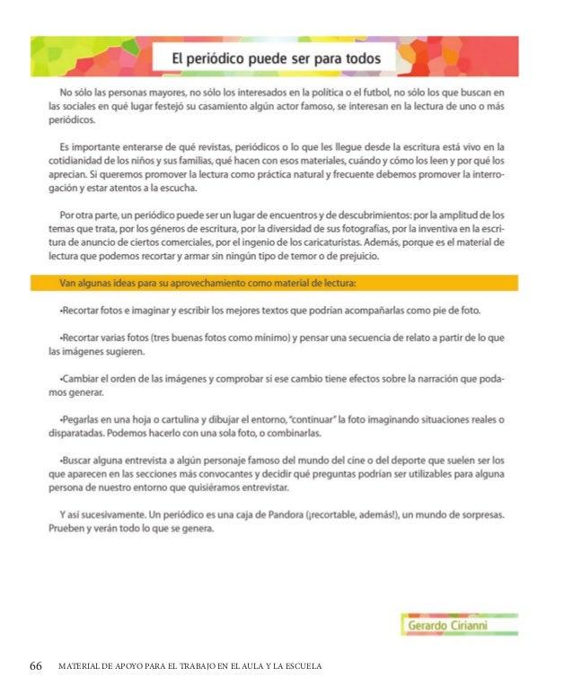 Apoyo a la lectura para Educación Básica