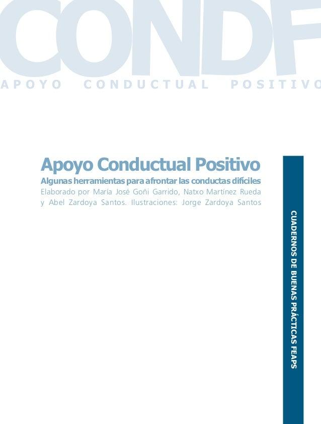 Conductas interior 1.FH11 Tue Nov 13 11:52:30 2007 Página 1 Apoyo Conductual Positivo Algunas herramientas para afrontar l...