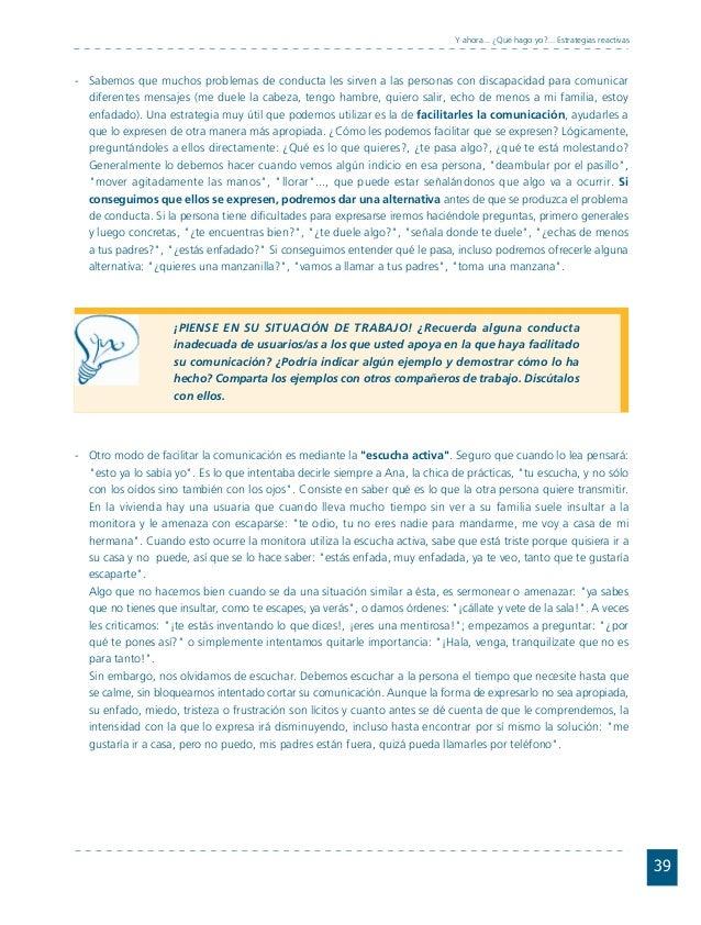 Conductas interior 1.FH11 Tue Nov 13 11:52:30 2007 Página 39 39 Y ahora... ¿Qué hago yo?... Estrategias reactivas Sabemos ...