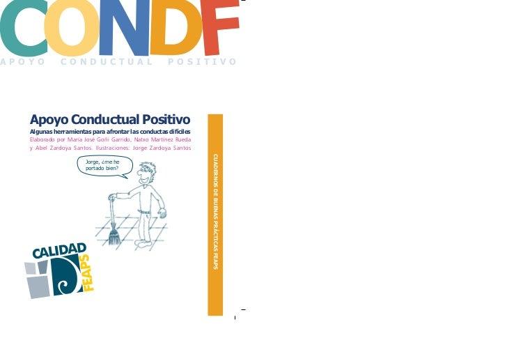 CONDFAPOYO         CONDUCTUAL                             POSITIVO   Apoyo Conductual Positivo   Algunas herramientas para...