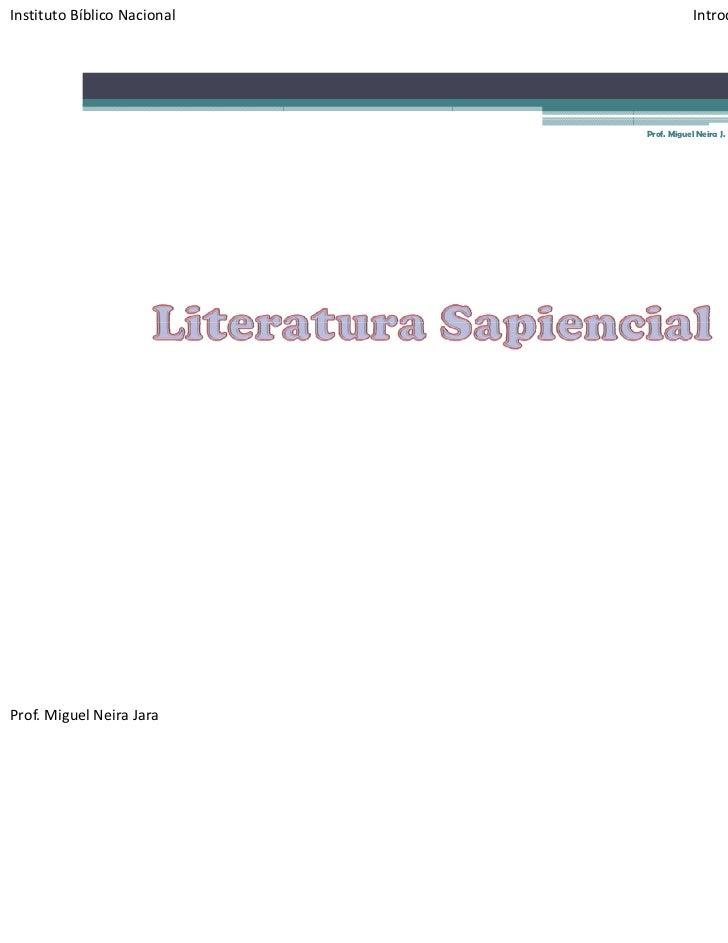 InstitutoBíblicoNacional               IntroducciónalaBiblia‐ Apoyon°11                                            ...