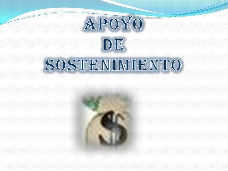 Es un programa del Servicio  Nacional de Aprendizaje   SENA que tiene como finalidad cubrir los gastos  básicos de los apr...