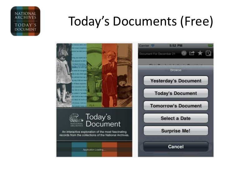 Today's Documents (Free)