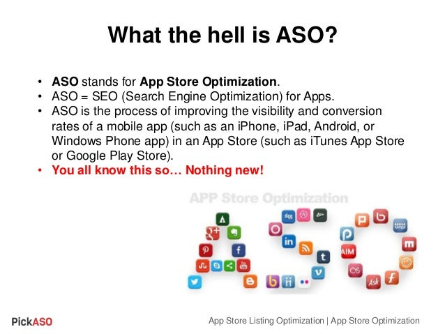 App Store Listing Optimization