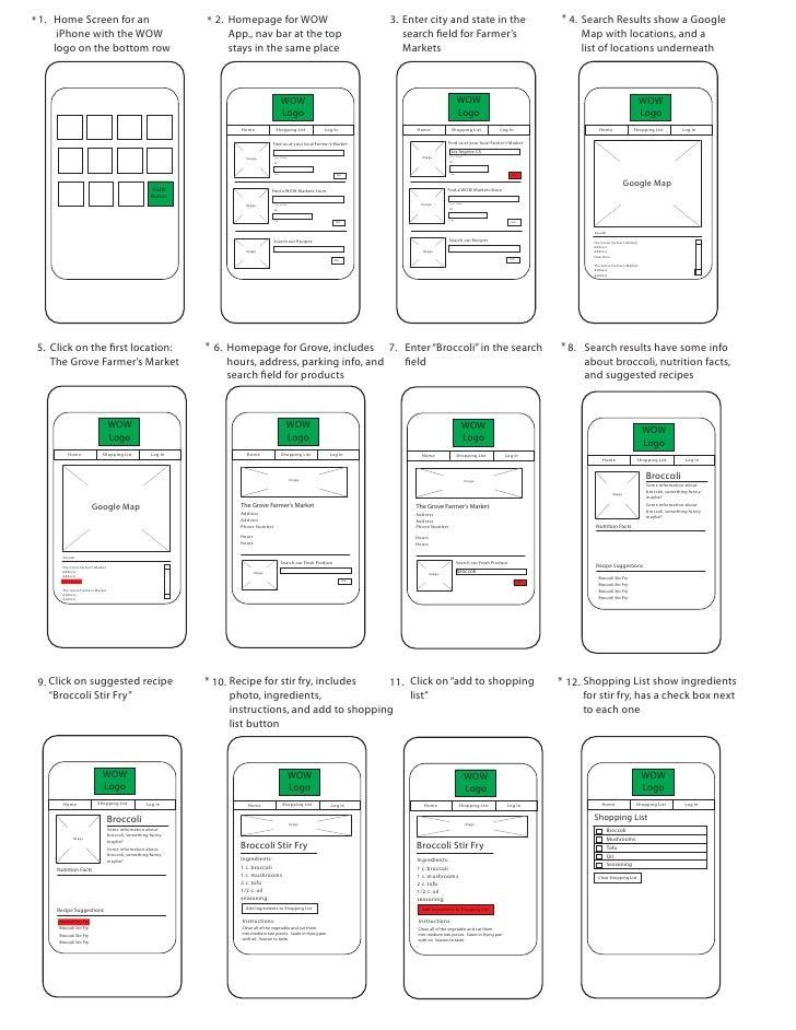 App storyboard