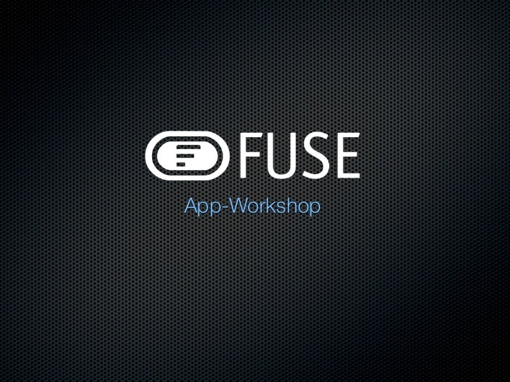 App-Workshop