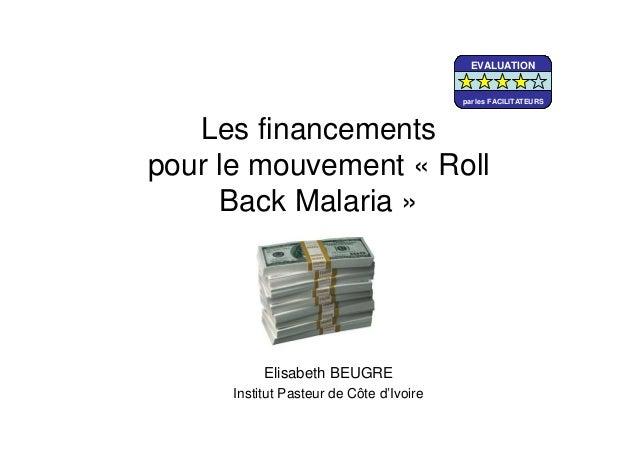 Roll back malaria essay