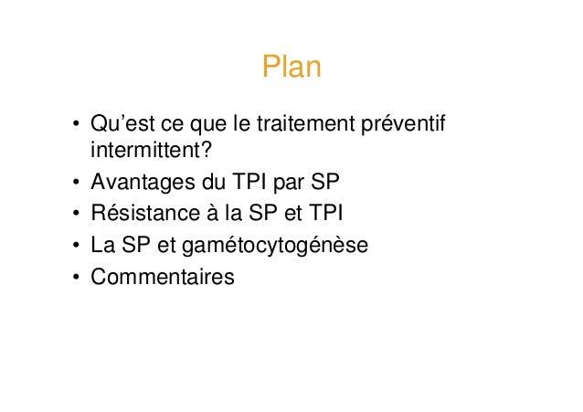 Traitement intermittent préventif par sulfadoxine