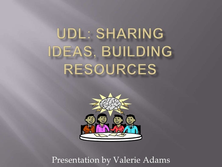 Presentation by Valerie Adams