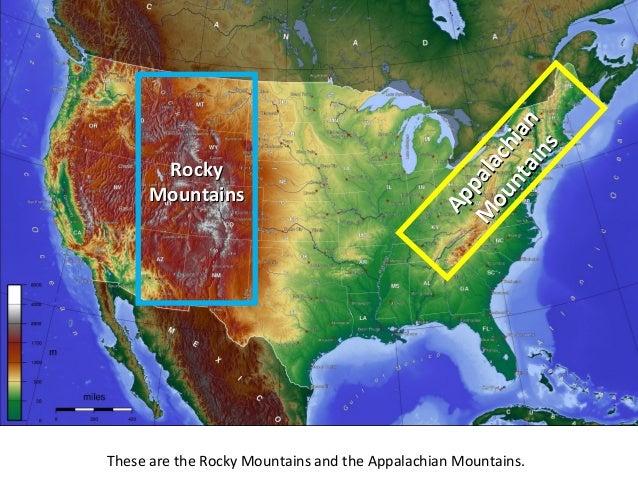 Appalachian rocky mountains