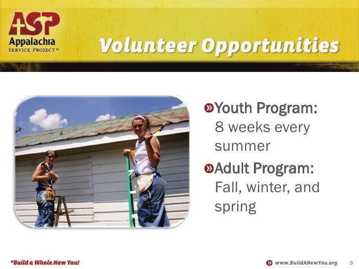 appalachia service project Learn about working at appalachia service project join linkedin today for free see who you know at appalachia service project, leverage your professional network, and get hired.