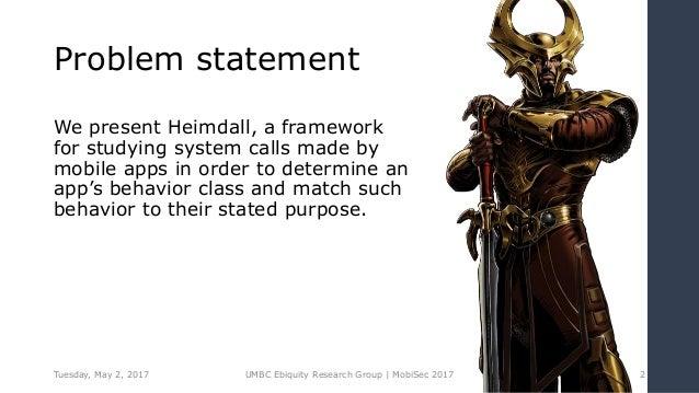 App behavioral analysis using system calls Slide 2