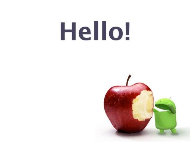 Android design guideline - App! 2012 - Kollin Zoltán Slide 2