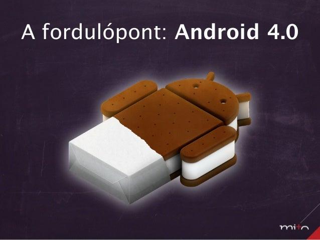Android design guideline - App! 2012 - Kollin Zoltán Slide 3