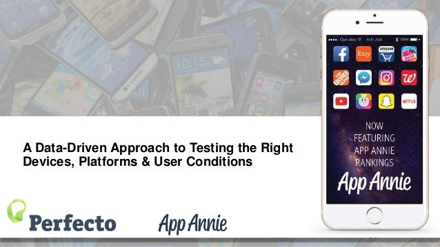 A Data-Driven Approach to Testing the Right Devices, Platforms & User Conditions