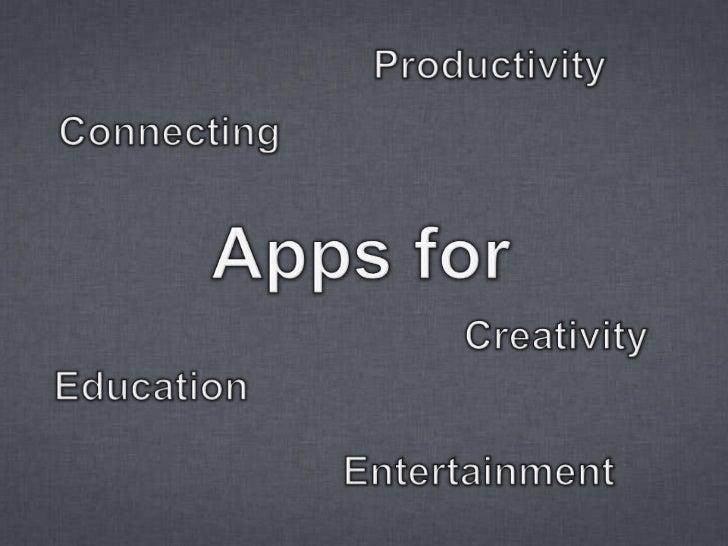 App Appeal  Slide 2