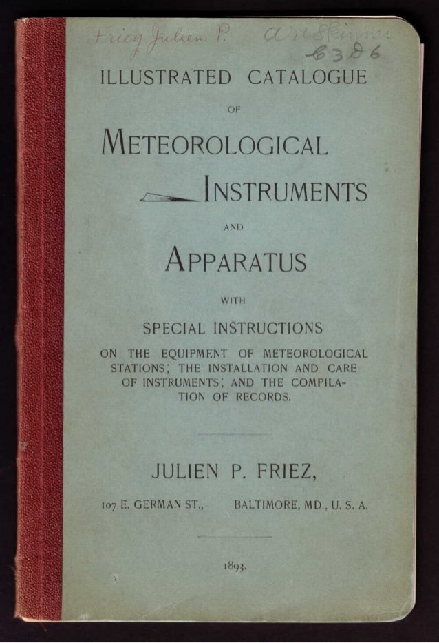 Belfort Instrument Company Apparatus