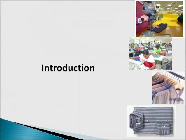 garment manufacturing process from fabric to product pdf