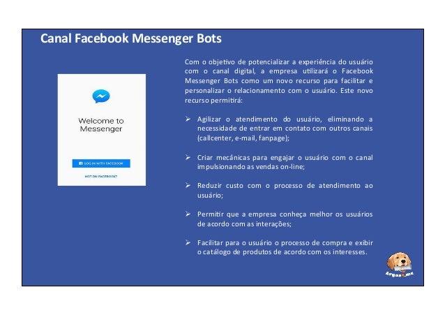 Superare - Facebook Messenger Bots: um novo canal de relacionamento Slide 2