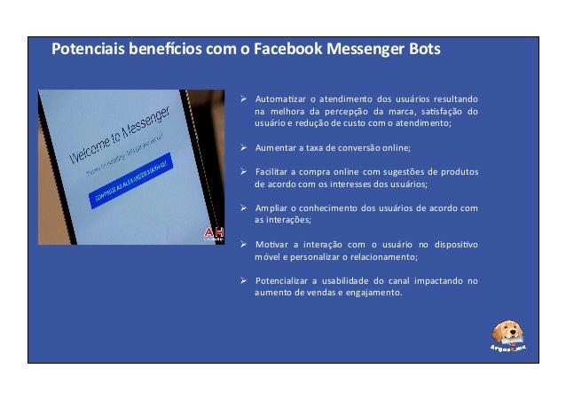 Superare - Facebook Messenger Bots: um novo canal de relacionamento Slide 3