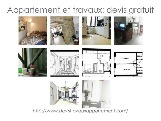 appartement et travaux devis gratuit. Black Bedroom Furniture Sets. Home Design Ideas