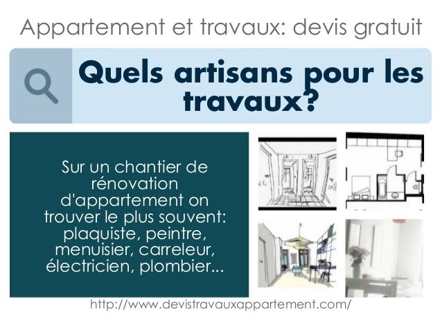 appartement et travaux devis gratuit. Black Bedroom Furniture Sets. Home Design Ideas