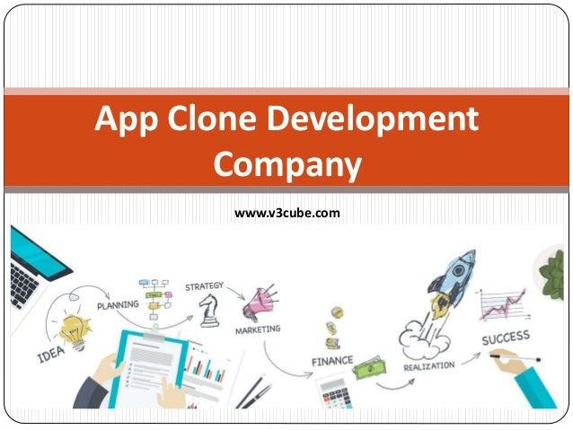 App Clone Development Company www.v3cube.com