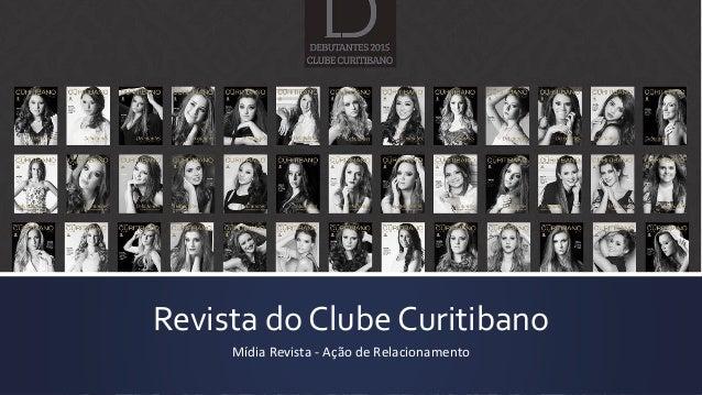 Revista do Clube Curitibano Mídia Revista - Ação de Relacionamento