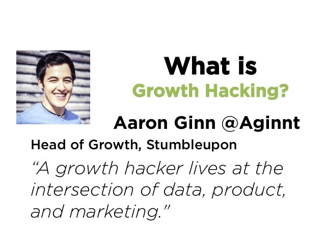 """@SeanEllis CEO, Qualaroo and GrowthHackers.com """"Agrowth hackeris a person whosetrue northis growth."""" What is Growth Ha..."""