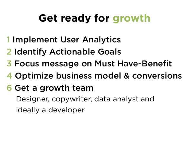 The 3 P's of user acquisition