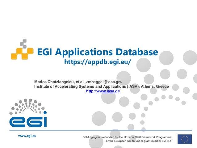 egi deals database