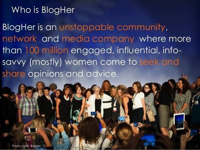 BlogHer: Building Your Blog for Business in 2015 Slide 2