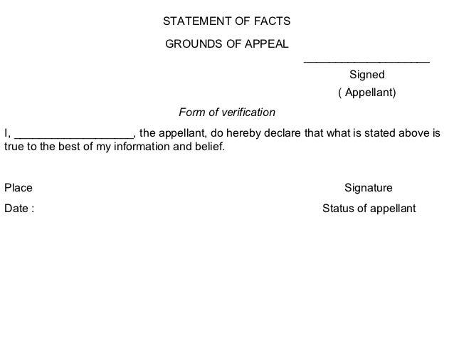 Doc678878 Affidavit Statement of Facts Doc678878 Affidavit – Affidavit of Fact Template