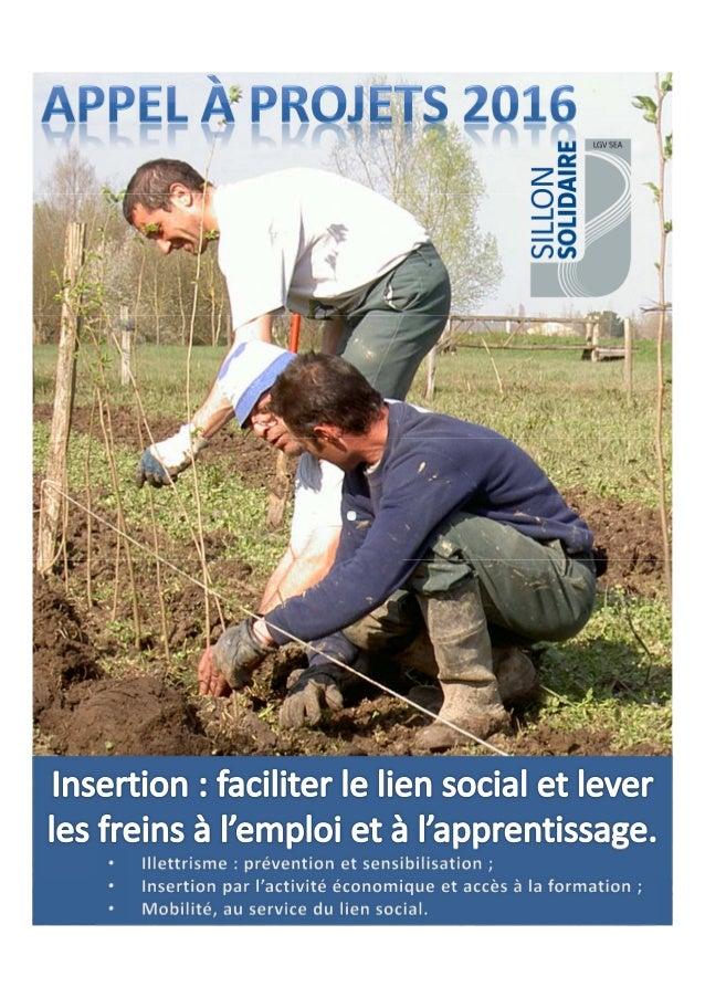 I. PRÉSENTATION DE SILLON SOLIDAIRE Le Fonds de dotation Sillon Solidaire a été créé en 2012 au cœur du projet de Ligne à ...
