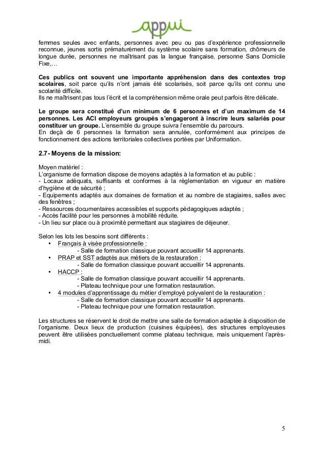 Offre D Emploi Restauration Collective Scolaire