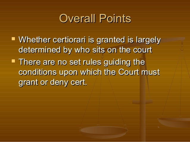 what is the appellate court