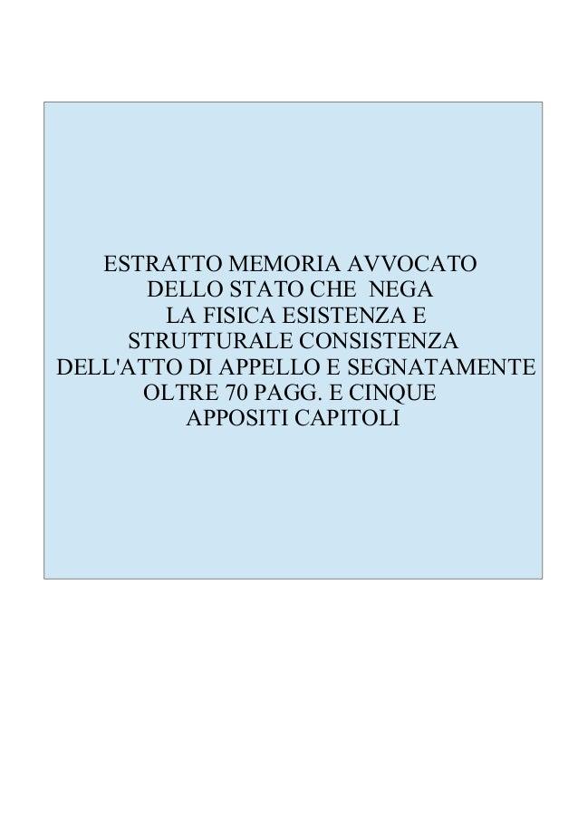 Appello Cds memoria avvocatura Stato ordinanza Cds con annotazioni ever note