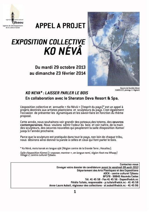 Appel à projet Exposition collective KO NEVA