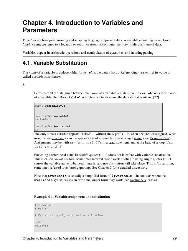 Append 00 advanced bash scripting gnu guide